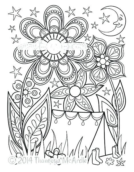 469x600 Camping Coloring Sheets Best Camping Coloring Pages Picture Free