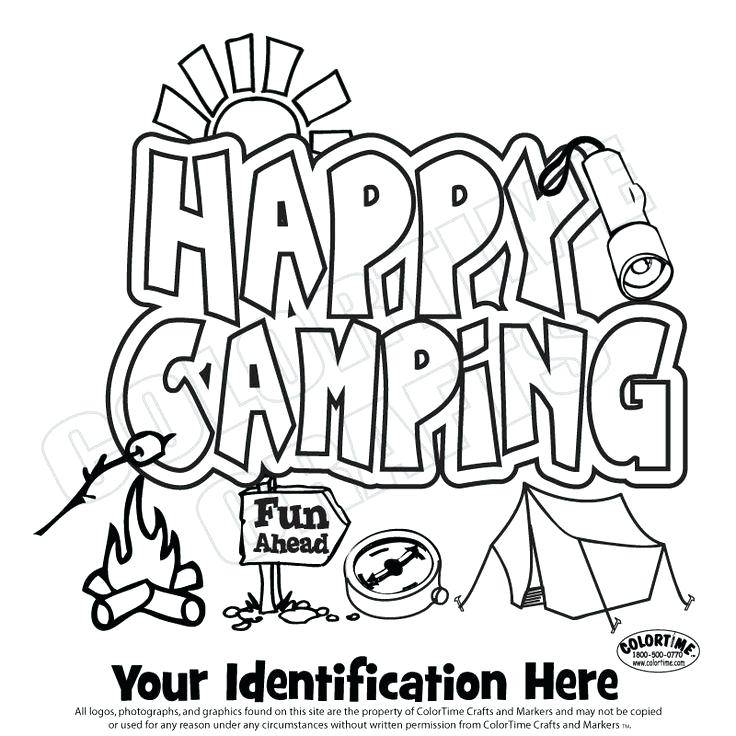 736x736 Camping Coloring Pages Ideas Collection Printable Camping Coloring