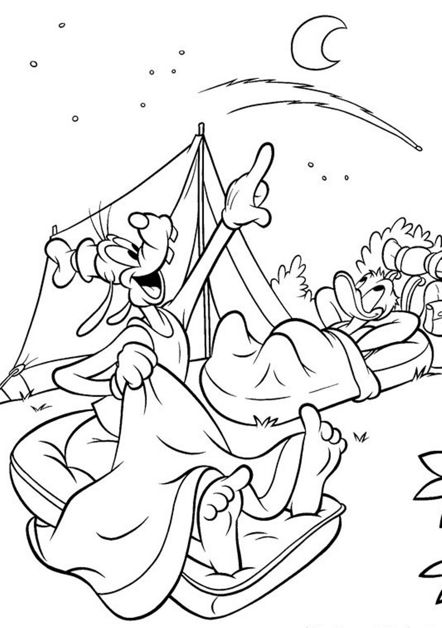890x1263 Camping Coloring Pages To Print With Archives Coloring For Kids