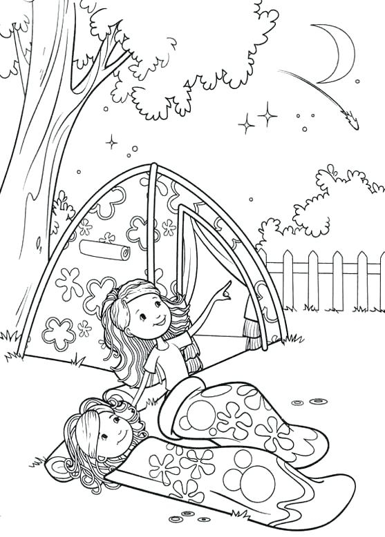 557x778 Free Printable Coloring Pages For Kids Camping Camping Coloring