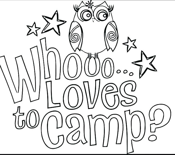 678x600 Camping Coloring Page Camping Coloring Page Camping Coloring Pages