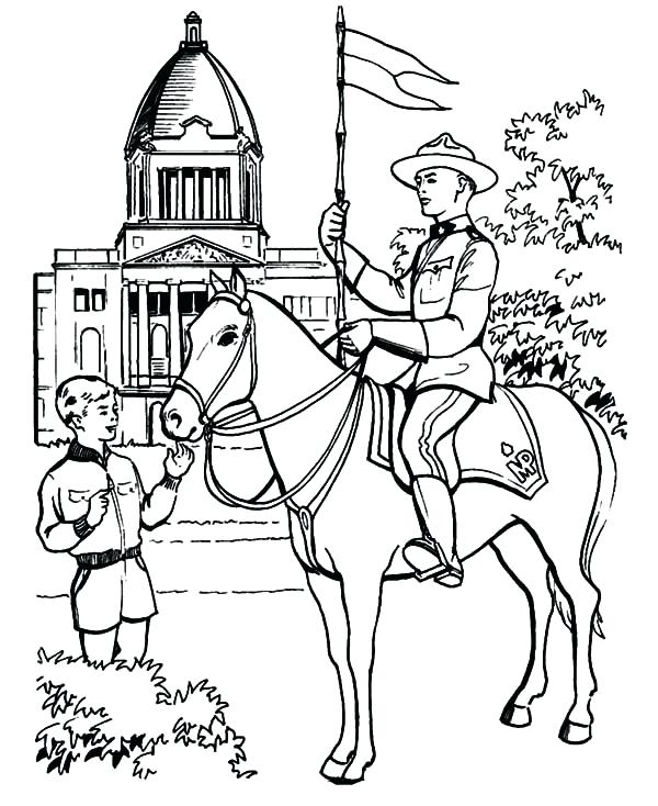 600x734 Canada Coloring Pages Day Ride A Horse Coloring Pages Canada Geese