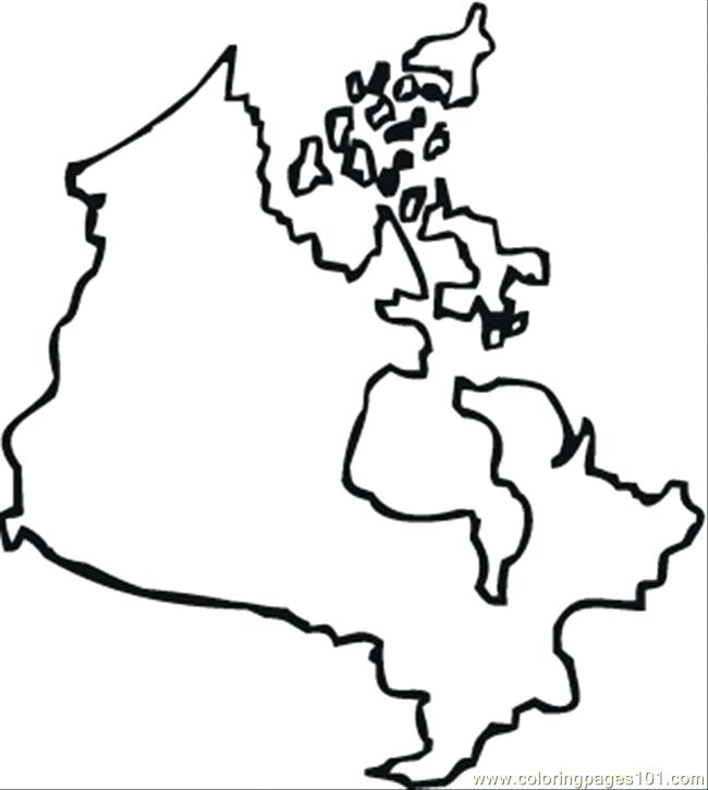 650x726 Canada Coloring Pages Map Of Coloring Page Canada Geese Coloring