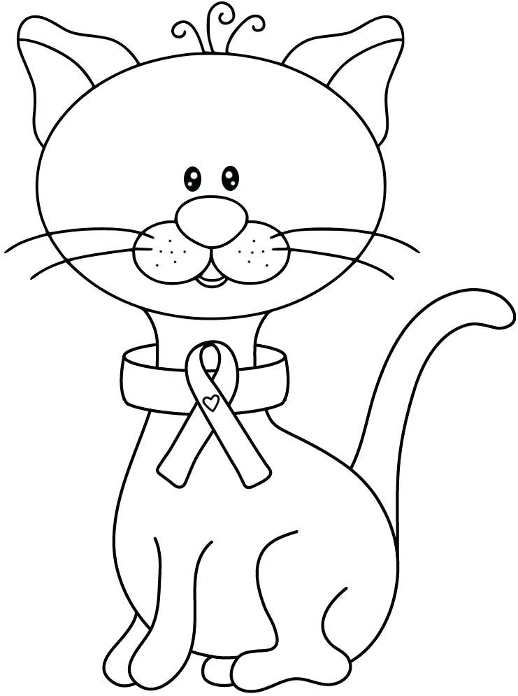 741x995 Brain Cancer Ribbon Color Pictures Cancer Ribbon Coloring Page