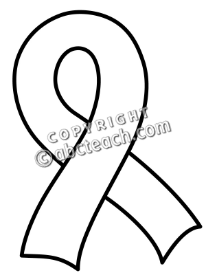 Cancer Ribbon Coloring Page at GetDrawings com | Free for