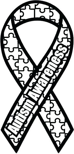 290x600 This Is A Special Awareness Ribbon Coloring Page To Support