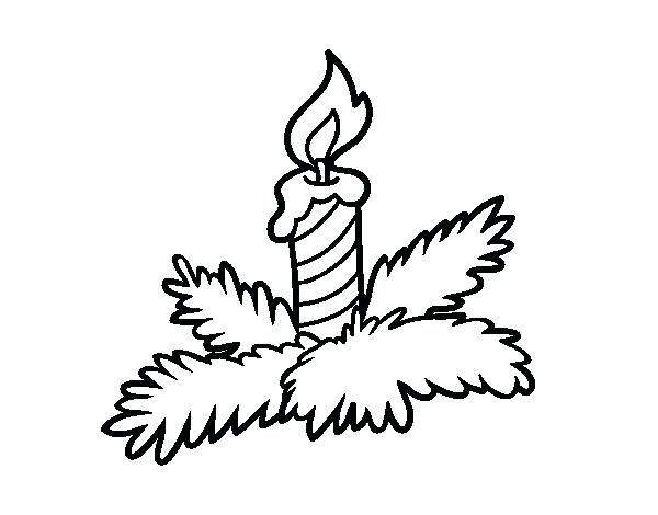 The Best Free Candle Coloring Page Images Download From 156