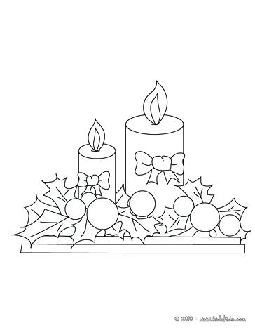 364x470 Warm Light Of Candle Coloring Pages Download Print Candle Warm