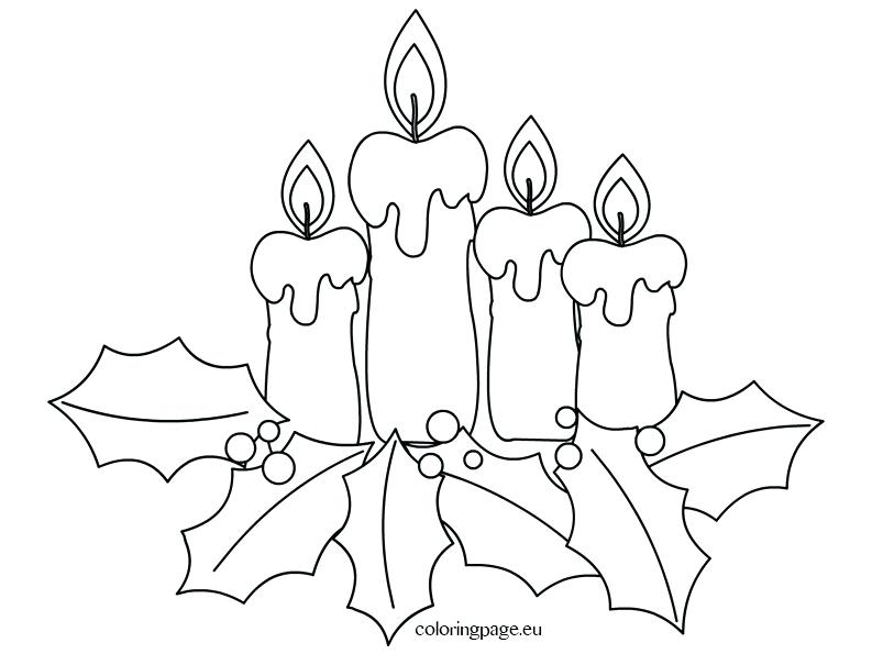 793x595 Blueberries For Sal Coloring Page Coloring Page Advent Candles