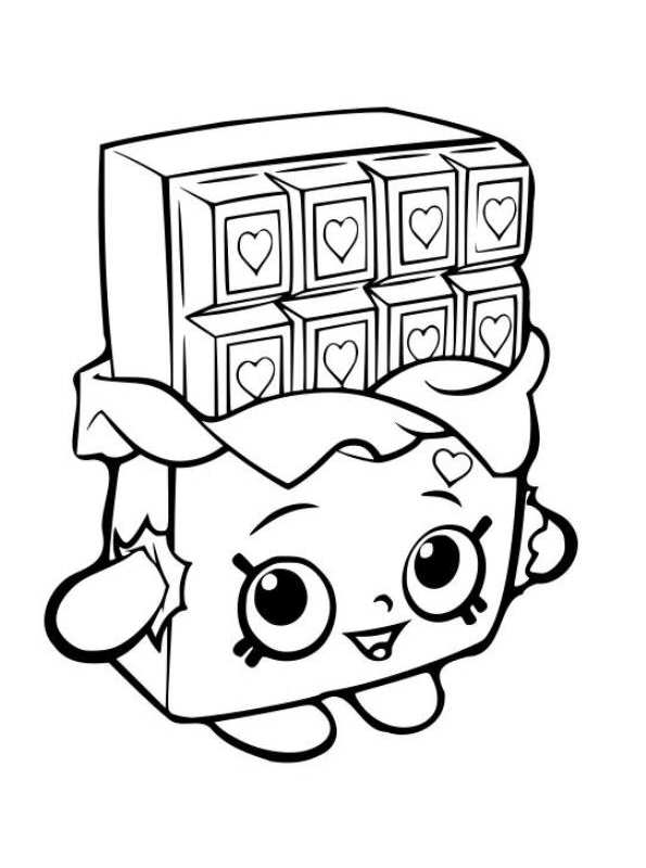 595x800 Kids N Coloring Pages Of Shopkins