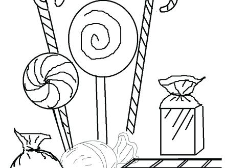 440x330 Printable Candy Bar Coloring Pages For Kids Peppermint Adult