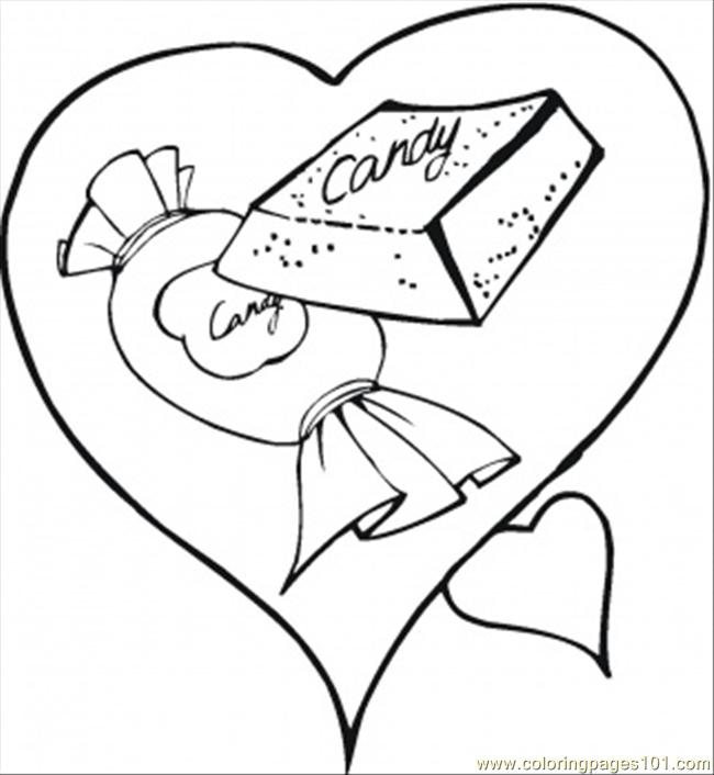 650x706 Candy Bar Coloring Pages