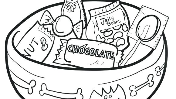 580x326 Candy Coloring Pages Candy Bar Coloring Pages Candy Coloring Pages