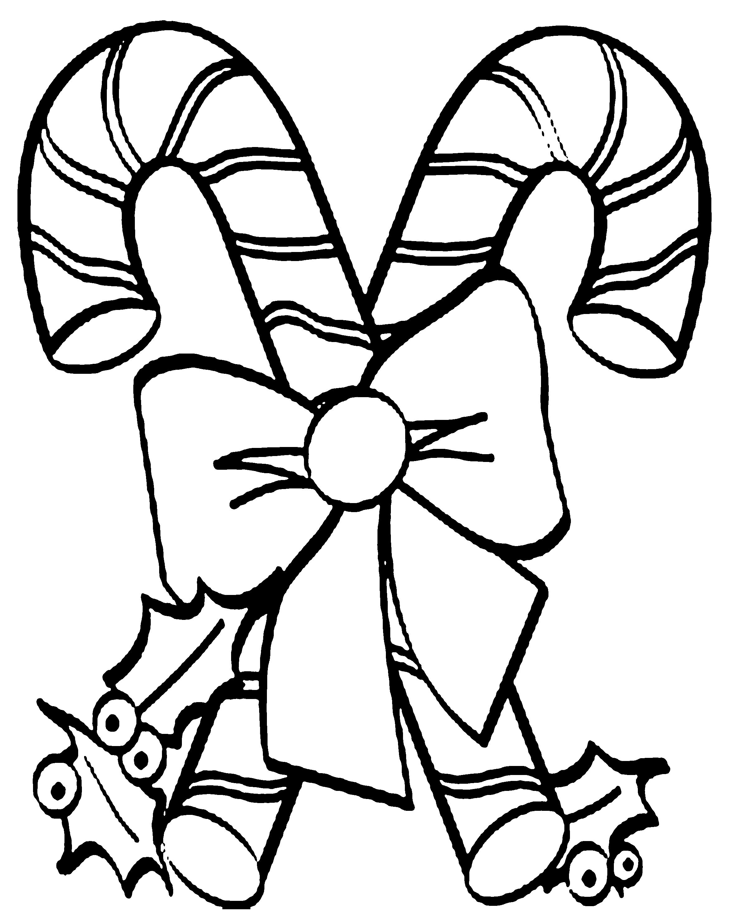 2376x2931 Christmas Candy Cane Coloring Pages With Lovely Christmas Candy