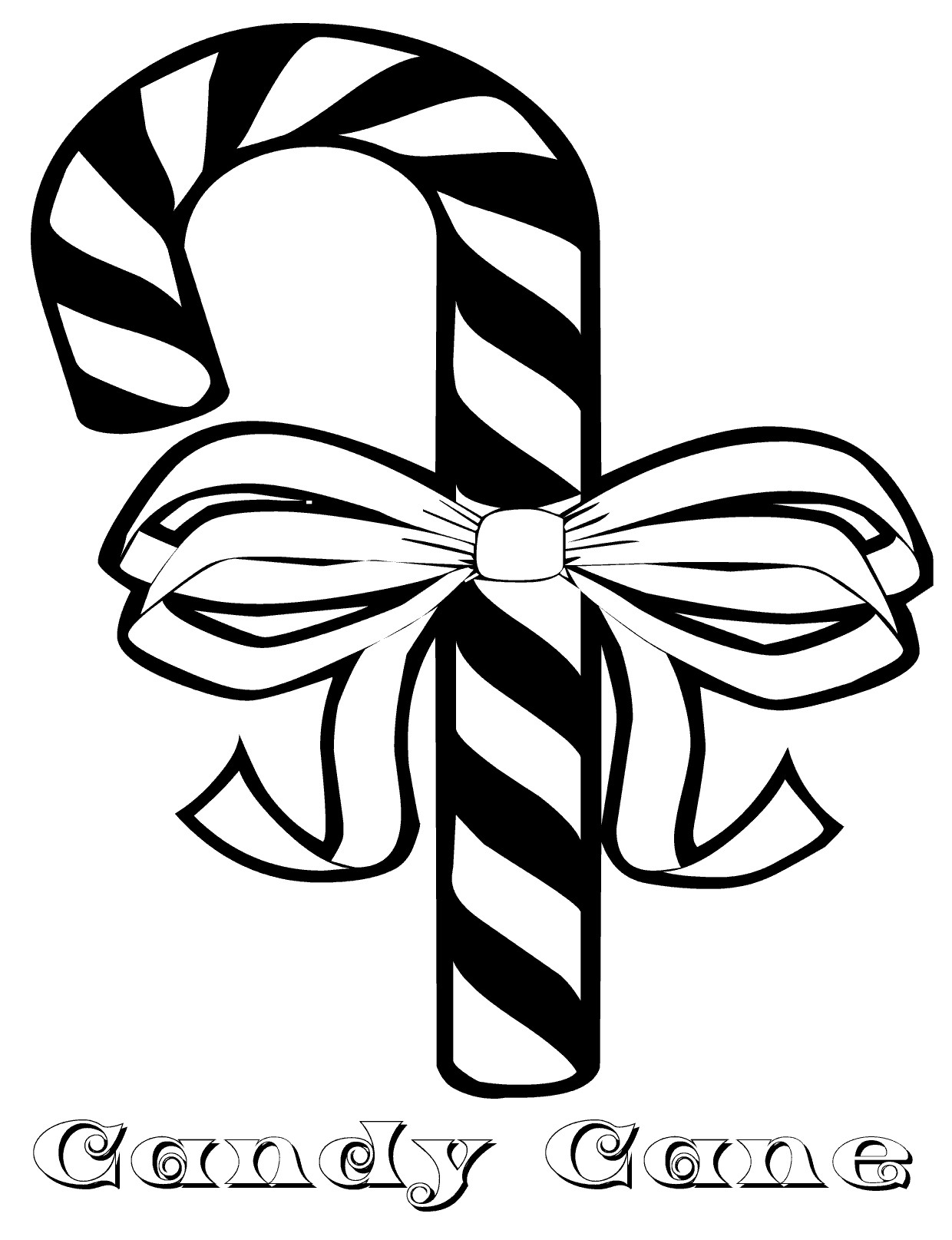 1240x1615 Free Printable Candy Cane Coloring Pages For Kids Canes