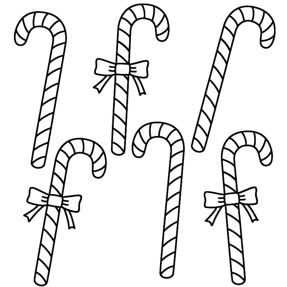 960x960 Get This Easy Printable Candy Cane Coloring Page For Children !