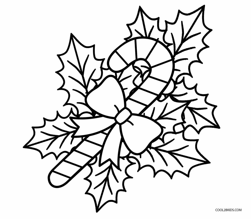 997x870 Magic Candy Cane Coloring Page Free Printable