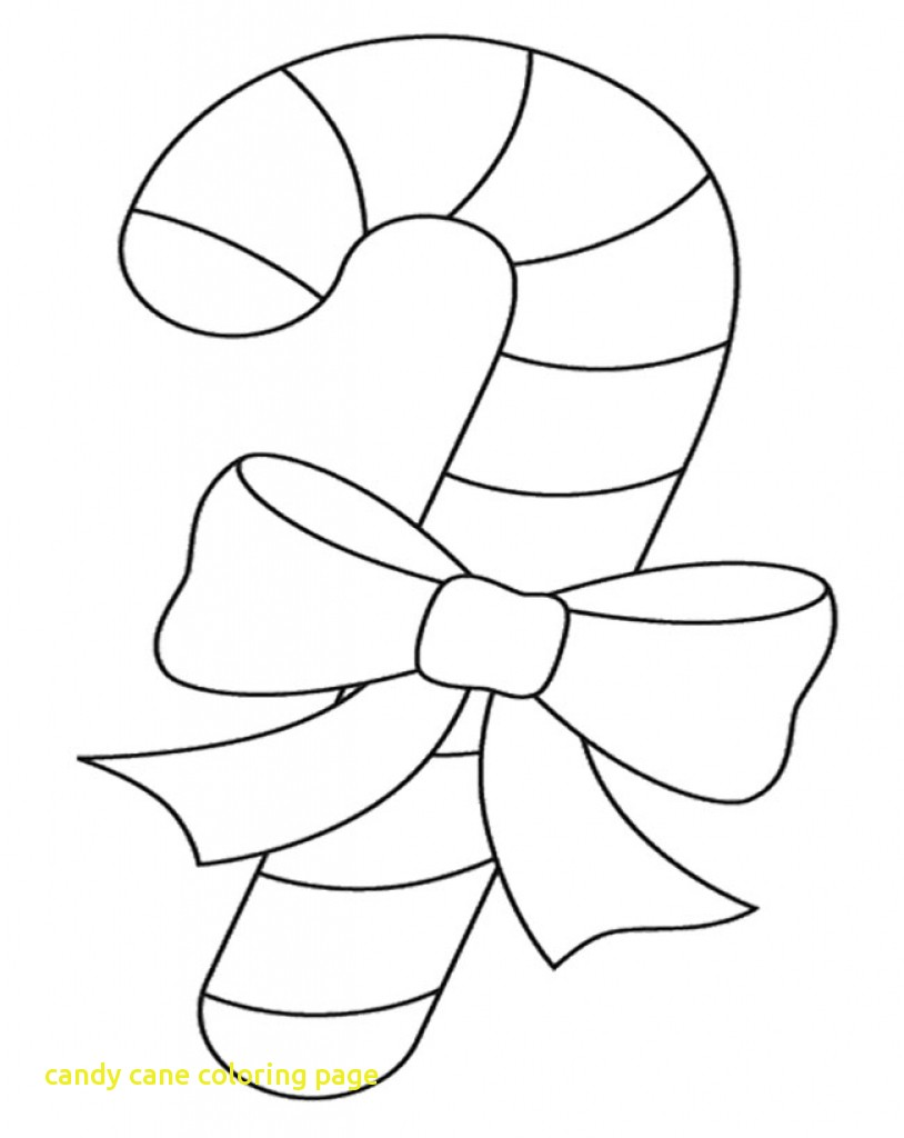 814x1024 Popular Candy Cane Color Page Free Printable Coloring Pages