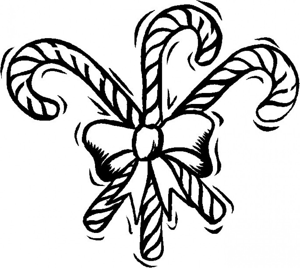 960x856 Security Coloring Pages Of Candy Canes Get This Preschool