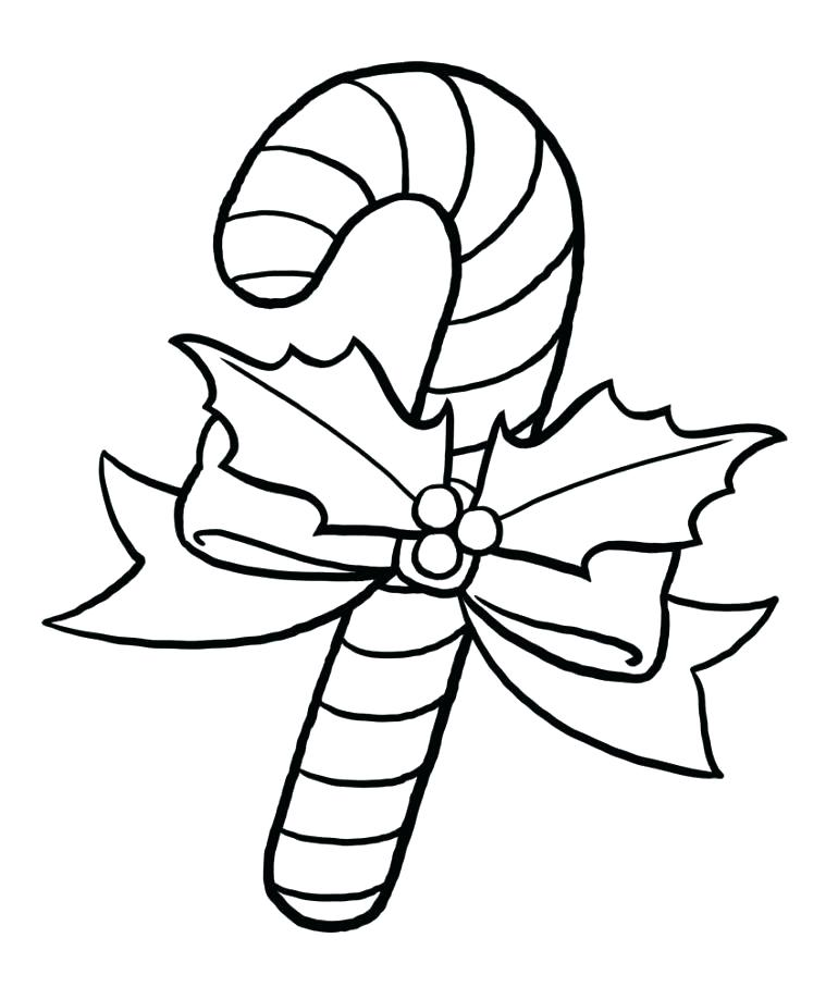 770x907 Candy Cane Coloring Pages Candy Cane Print Out Candy Cane Coloring