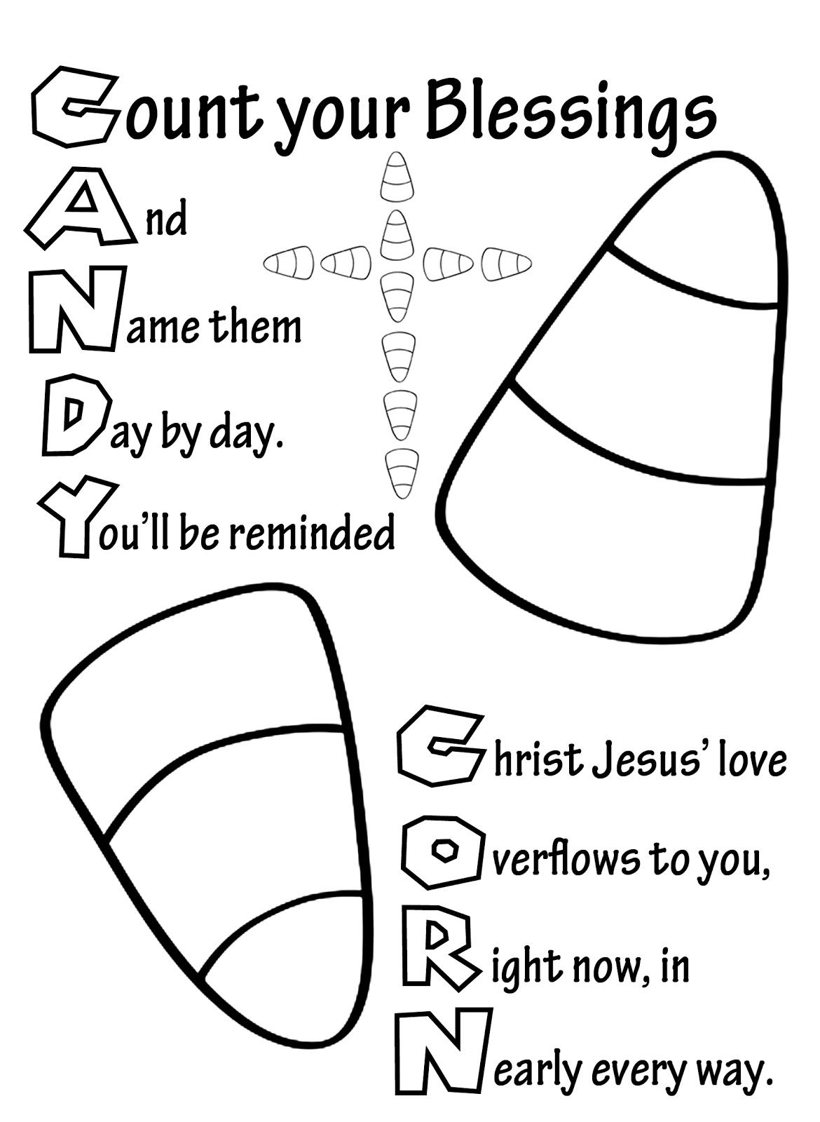 1170x1600 Candy Corn Candy Corn Cups And Sunday School Candy Corn Coloring