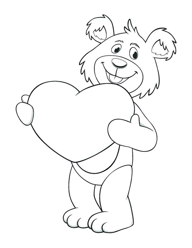 640x827 Valentine Heart Coloring Pages I Love You Heart Coloring Page