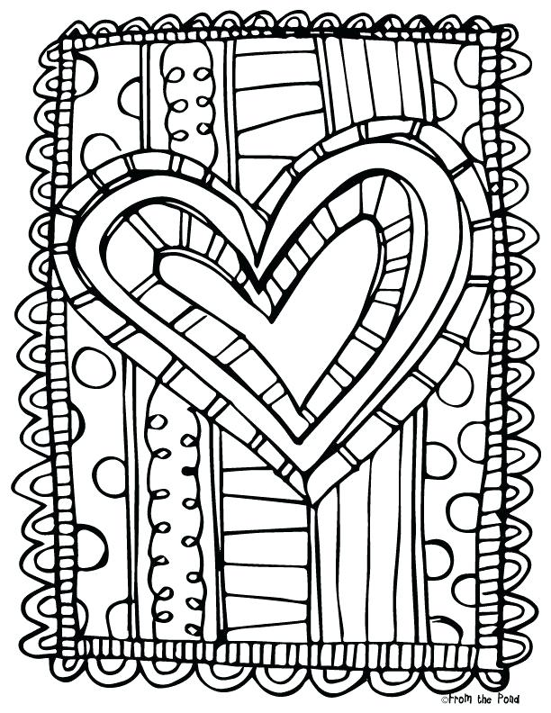 612x792 Valentine Heart Coloring Pages Plus Milk Coloring Page Milk