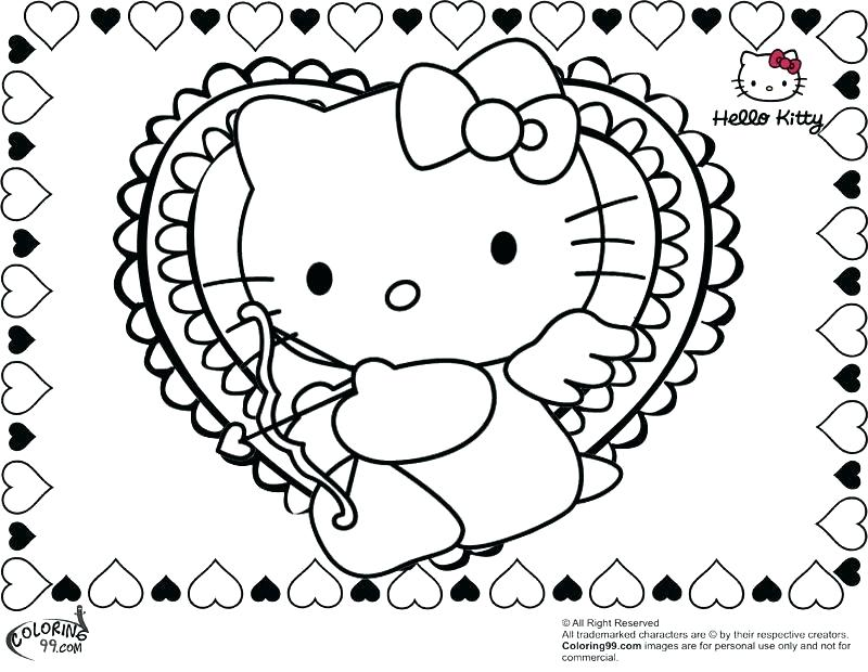 800x620 Valentine Heart Coloring Pages Valentine Heart Candies Coloring