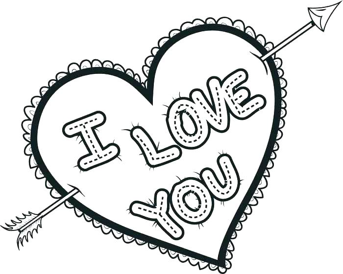 700x560 Valentine Hearts Coloring Pages Valentine Hearts To Color Love