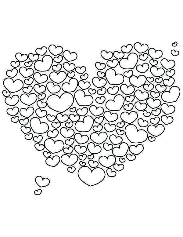 600x776 Valentines Heart Coloring Pages Valentines Day Coloring Pages
