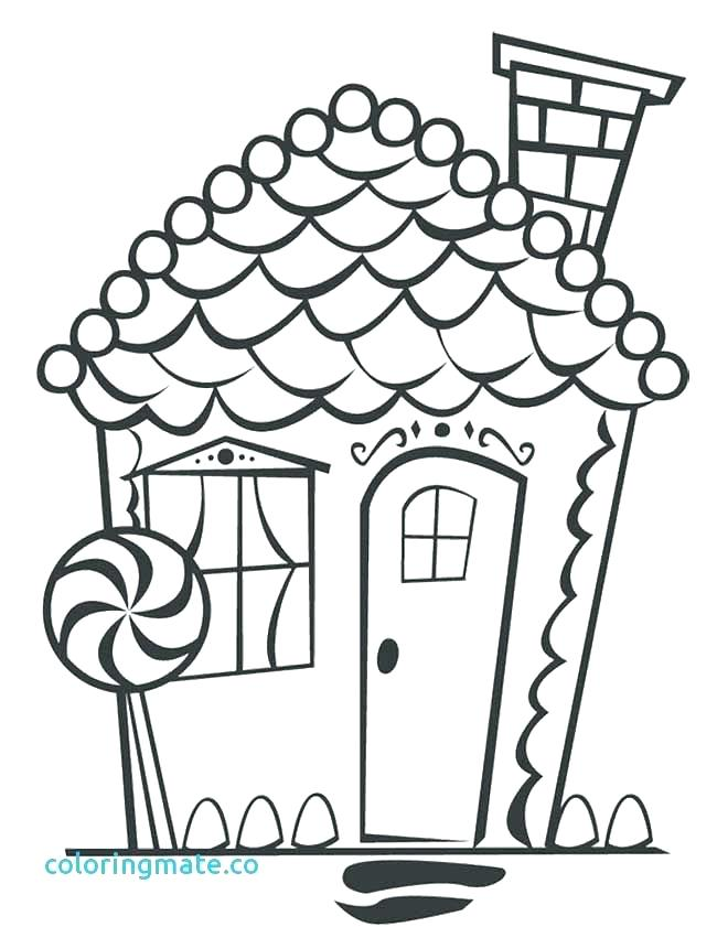 650x841 House Coloring Page Candy House Coloring Pages House Coloring