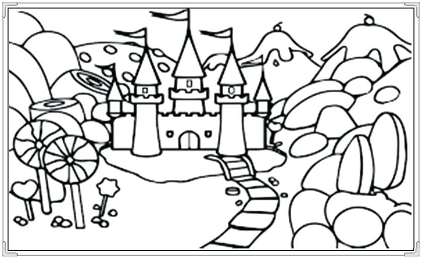 837x513 Candyland Coloring Pages Printable Coloring Pages For Kids