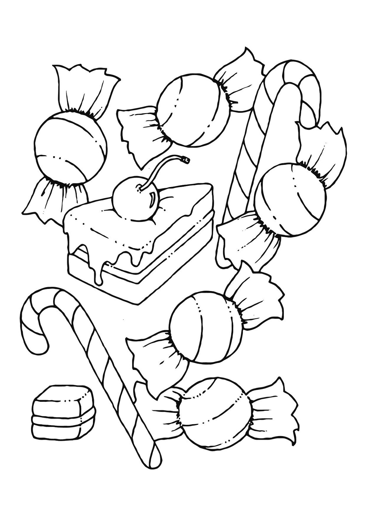 1204x1700 Candyland Coloring Pages For Kids Activity Shelter Gallery