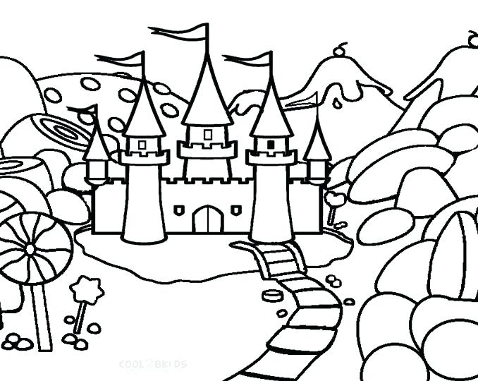 678x540 Candyland Coloring Page Candy Coloring Pages Candy Cane Coloring