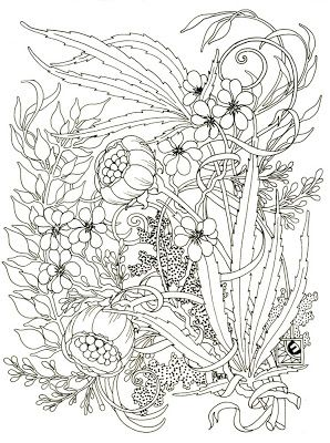 Cannabis Coloring Pages