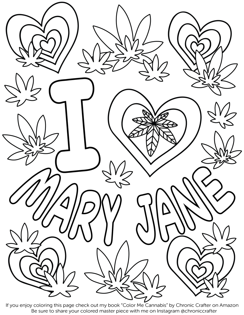 The Best Free Marijuana Coloring Page Images Download From 59
