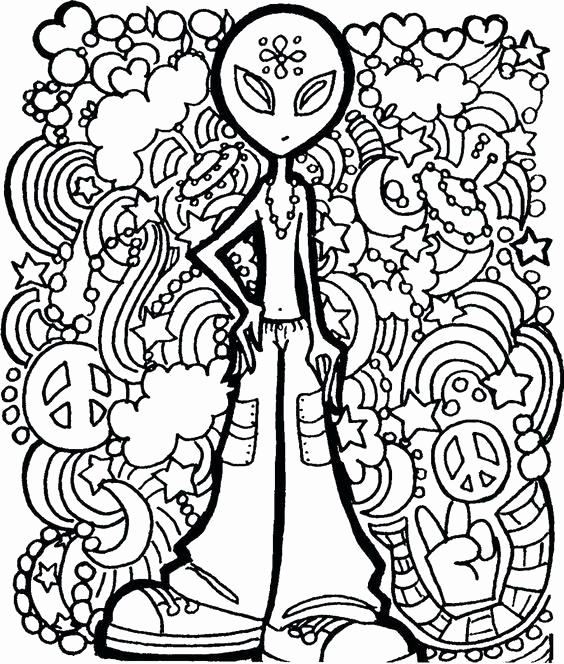564x664 Marijuana Leaf Coloring Pages Luxury Cool Coloring Pages Trippy