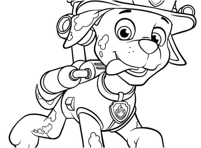 The best free Marshall coloring page images. Download from ...