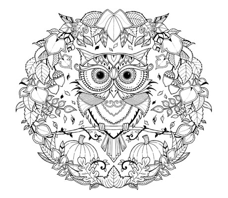 460x400 Printable Coloring Pages For Adults Canon Online Store