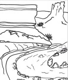 230x270 Grand Canyon Coloring Pages