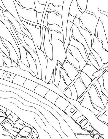 364x470 Old Electric Train Leaving A Tunnel Coloring Pages