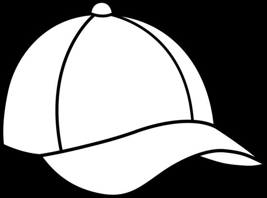 550x409 Caps Images Color Pages Baseball Cap Line Art