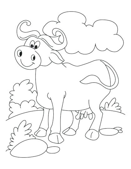 420x543 Buffalo Coloring Page Cape Buffalo Coloring Page Buffalo Soldiers