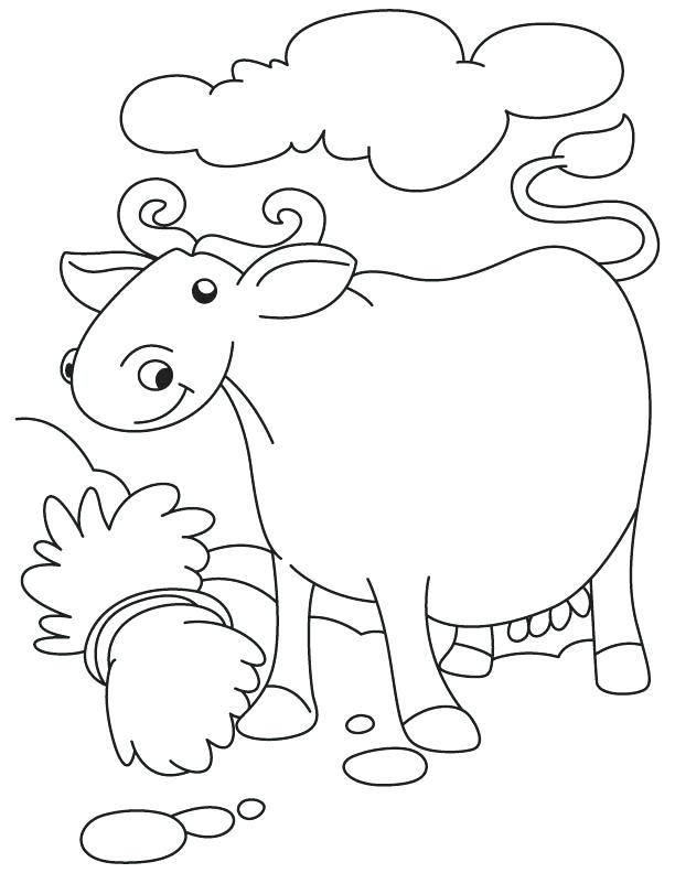 612x792 Buffalo Coloring Page Free Coloring Pages Cape Buffalo Coloring