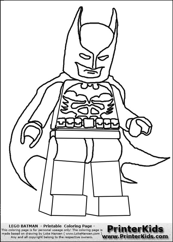 580x812 Lego Batman Cape Coloring Page Preview, Lego Superman Coloring