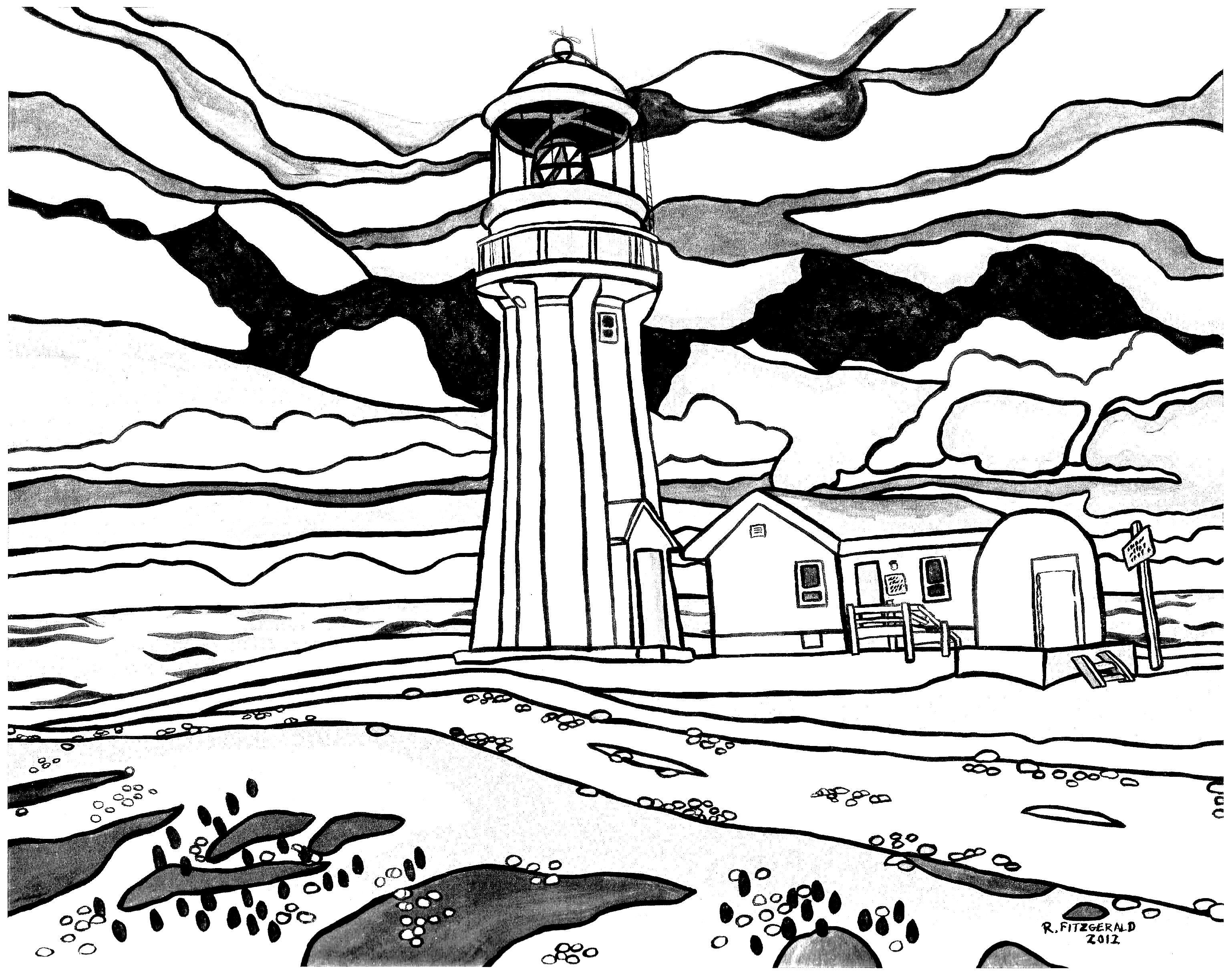 3076x2440 Lighthouse