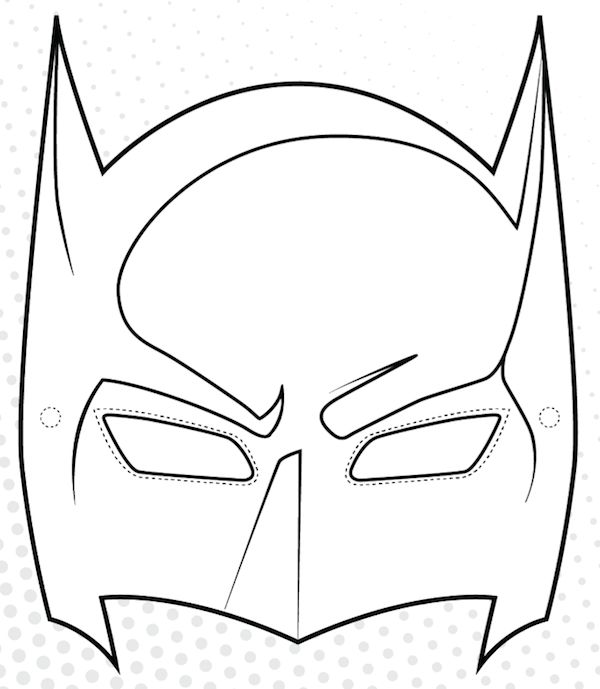 600x689 Valentines Day Cape Mask Templates To Print Out
