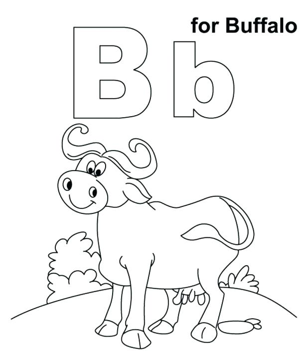 618x710 Vector Of A Cartoon Buffalo Shot With Arrows Coloring Page Outline