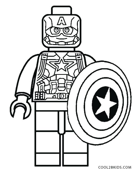 Captain America Coloring Pages Printable at GetDrawings ...