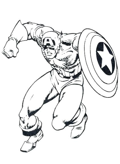 421x574 Captain America Coloring Picture Coloring Pages Captain Coloring